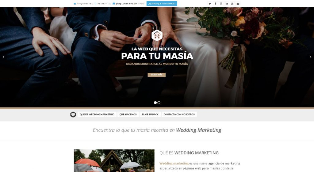 wedding marketing wedding planner y masias bodas
