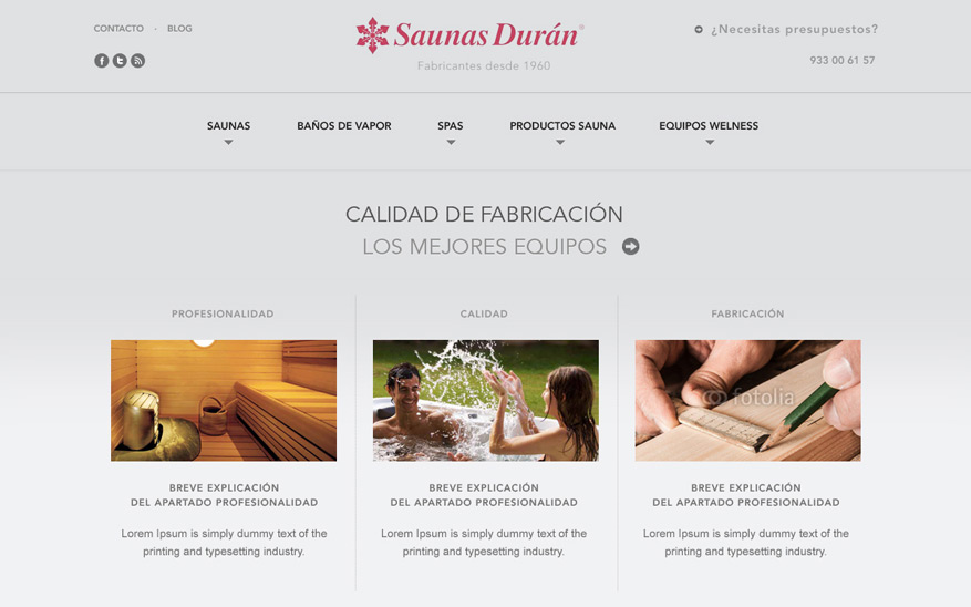 Saunas Durán